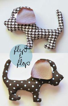 DIY : simple plushie pup, thanks so xox