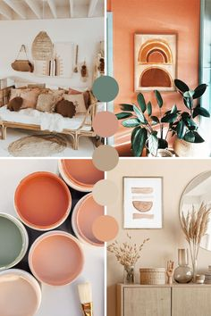 Room Ideas Bedroom, Bedroom Decor, Next Bedroom, Master Bedroom, Color Palette For Home, Earth Colour Palette, Aesthetic Bedroom, Earthy Bedroom, Earthy Home Decor