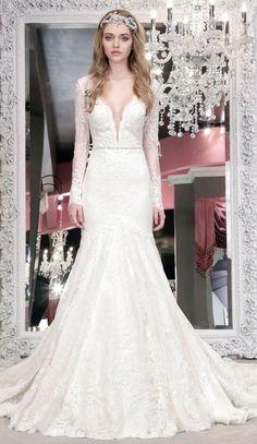 Featured Dress: Winnie Couture; Wedding dress idea.