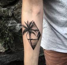 Resultado de imagen para tatuajes playas palmeras