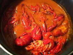 Cangrejos del rio con salsa de la amama Puri