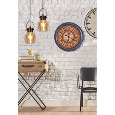 Hanglamp Alex - glas / staal | home24.nl Safety Classes, Swag Light, Water Efficiency, Brown Shades, Shape Coding, Sloped Ceiling, Yellow And Brown, Fabric Shades, Colored Glass