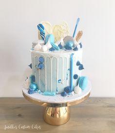 By Jenelle's Custom Cakes! By Jenelle's Custom Cakes! Birthday Drip Cake, Number Birthday Cakes, Blue Birthday Cakes, Boys First Birthday Cake, Birthday Cakes For Teens, Beautiful Birthday Cakes, Beautiful Cakes, Amazing Cakes, Cupcakes
