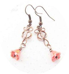 Wire Tutorial Easy Earring Tutorial Spring Jewelry by KicaFika, $4.50
