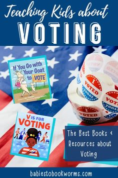 Teach kids about the election with these resources and kid's books about voting! Activities For 2 Year Olds, Creative Activities, Practical Parenting, Parenting Tips, Kids Education, Primary Education, Elementary Education, Infant Activities, Learning Activities