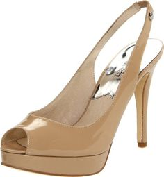 Let the world see your style, be it day or night.Michael Michael Kors Women's York Nude Patent Slingback Pumps
