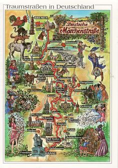 fairytale map - Google Search