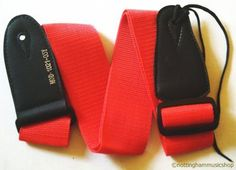 STRAP FOR ELECTRIC OR ACOUSTIC GUITAR PLAIN LIGHT FAWN COLOUR NEW JANIKA 102C