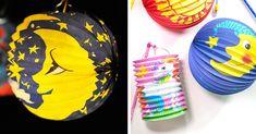 Welches Motiv wünscht sich dein Kind für deine Laterne? Dots, Pink, Paper Lanterns, Animal Themes, Balloons, Simple Diy, Childhood, Stitches, The Dot