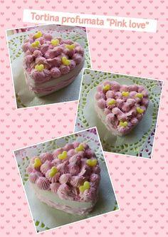 LA VIE EN ROSE: Tortina di gesso al profumo di vaniglia