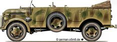 """Engines of the Wehrmacht - """"Steyr 1500 A/02"""", 1.5-ton, 4x4, Troop Carrier"""