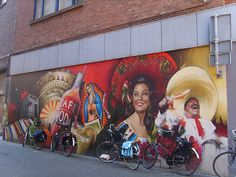 Mexican mural