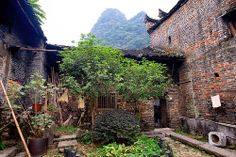 Visit to a local family in Yangshuo living in old traditional Chinese house, Yangshuo, China Traditional Chinese House, Chinese Places, The Outsiders, China, Explore, Live, Porcelain, Exploring
