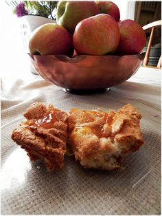 easy smeas! any flavor fruit pie filling will do!! North Dakota Kitchen: Apple Angel Cake