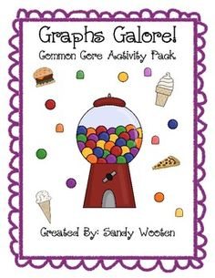 Graphs Galore Common Core Activity Pack is a fun way to teach your students about surveys, picture graphs, and bar graphs. This pack comes with 10 ...
