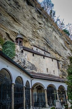 St. Peter's Cemetery Catacomb Chapel, Salzburg, Austria i and my wife and I have been here twice!