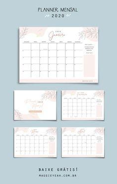 Work Planner, Agenda Planner, School Planner, Student Planner, Weekly Planner, Blog Planner Printable, Free Planner, Planner Template, Planner Pages