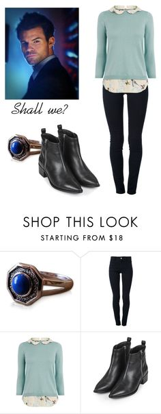 """""""Elijah Mikaelson - The Originals / the vampire diaries / tvd"""" by shadyannon ❤ liked on Polyvore featuring STELLA McCARTNEY, Oasis and Topshop"""