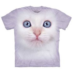 White Kitten T-Shirt Adult XXXL now featured on Fab.
