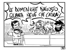 Comic strip...Le domeniche d'agosto