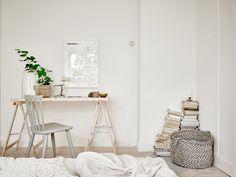 my scandinavian home: Duvet day in this beautiful bedroom? Patio Interior, Interior Work, Workspace Inspiration, Interior Design Inspiration, Custom Furniture, Bedroom Furniture, Furniture Stores, Cheap Furniture, Wood Furniture