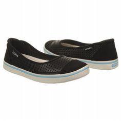 Crocs Crosmesh Hover Skimmer Shoes (Black) - Women's Shoes - 6.0 M