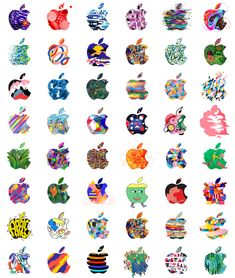 PROTO-JP TUMBLR Research Logo, Apple Logo Design, Apple Brand, Apple Art, Emoji Wallpaper, Arte Pop, Illustrator Tutorials, Monogram Logo, Vintage Travel Posters