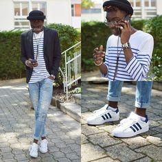 Adidas Superstar Mens On Feet