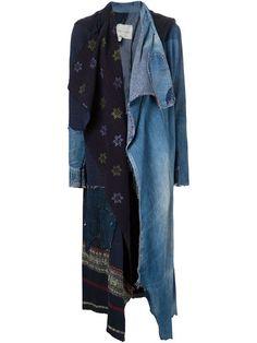 Greg Lauren 'Nomad' patchwork coat
