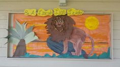 Lion for bulletin board