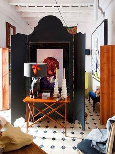 Casa de decoração ímpar na Andaluzia