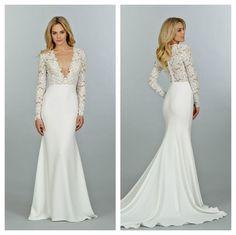 7 Lovely Lace Wedding Dresses Inspired by Kim Kardashian's