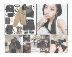 """|| Yumi / Ayumi || DIANA Airport Fashion || ( 4 / 5 ) || { insert BTS lyrics }"" by the-demon-in-me ❤ liked on Polyvore featuring Topshop, Versace, Paul & Joe and Balmain"