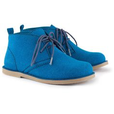 Check this out! Desert boots in in imitation suede with laces at the front and rubber soles. - Visit hm.com to see more.