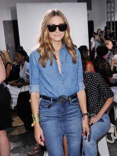 Olivia Palermo: Nonoo - Front Row - Mercedes-Benz Fashion Week Spring 2015