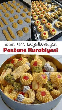 Persian Desserts, Turkish Recipes, Frozen Yogurt, Serving Dishes, Biscotti, Tart, Food And Drink, Cookies, Breakfast
