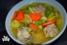 Csorba húsgombóccal - Keva Blog Pot Roast, Soup, Ethnic Recipes, Blog, Carne Asada, Roast Beef, Soups, Chowder
