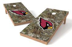 Arizona Cardinals Cornhole Board Set - Realtree Max-1® Camo