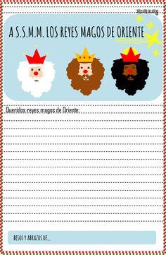 Imma Creativa: Carta a los Reyes Magos de Oriente
