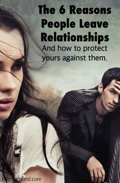 No two relationships are the same but the reasons people fall out of love often are. Here are 6 of them. http://www.heysigmund.com/6-reasons-people-leave-relationships-and-how-to-avoid-it-happening-to-yours/