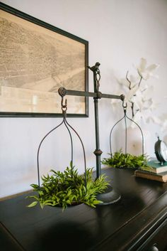 Decorative iron scale, as seen on Fixer Upper. Found on Target.com on sale!