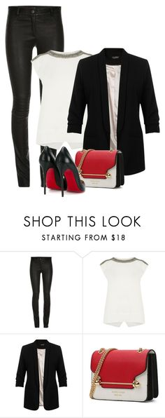 """""""Untitled #1225"""" by mrseclipse ❤ liked on Polyvore featuring ElleSD, Oasis, Miss Selfridge and Christian Louboutin"""