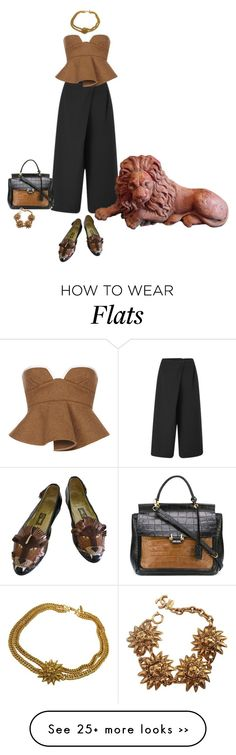 """""""Lion Shoes"""" by lovetodrinktea on Polyvore featuring Cameo, Lanvin, Chanel and Marni"""