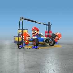 Mario & Toads Mechanics - Mario Kart 8