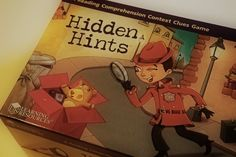 Hidden Hints is a game that develops reading comprehension and vocabulary using context clues.