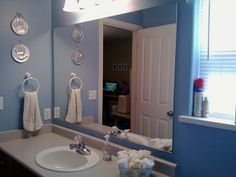 Framed Bathroom Mirrors Ideas diy framed mirror using standard moldings | frame bathroom mirrors