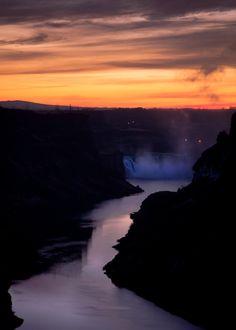 Shoshone Falls - Snake River, Idaho