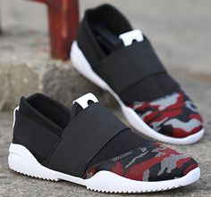 bded02084e84 Aliexpress.com   Buy 2016 mens casual canvas shoes tide Forrest Trifle  heavy bottom slip on men shoes Korean popular men camouflage boat shoes  from Reliable ...