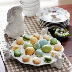 White Bunny Egg Platter | Pier 1 Imports