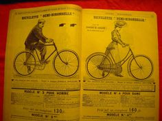 RARE MANUFRANCE de 1907 - Ancien Catalogue CYCLE VELO HIRONDELLE Bicycle FAHRRAD